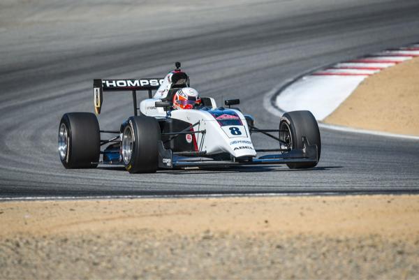 Indy Pro2000 gesponsord door Cooper Tires