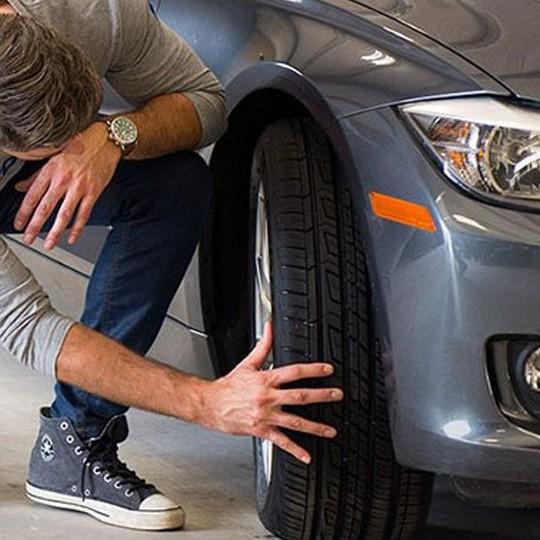 Ispezione degli pneumatici