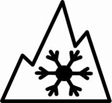 3 peak Mountain Snowflake