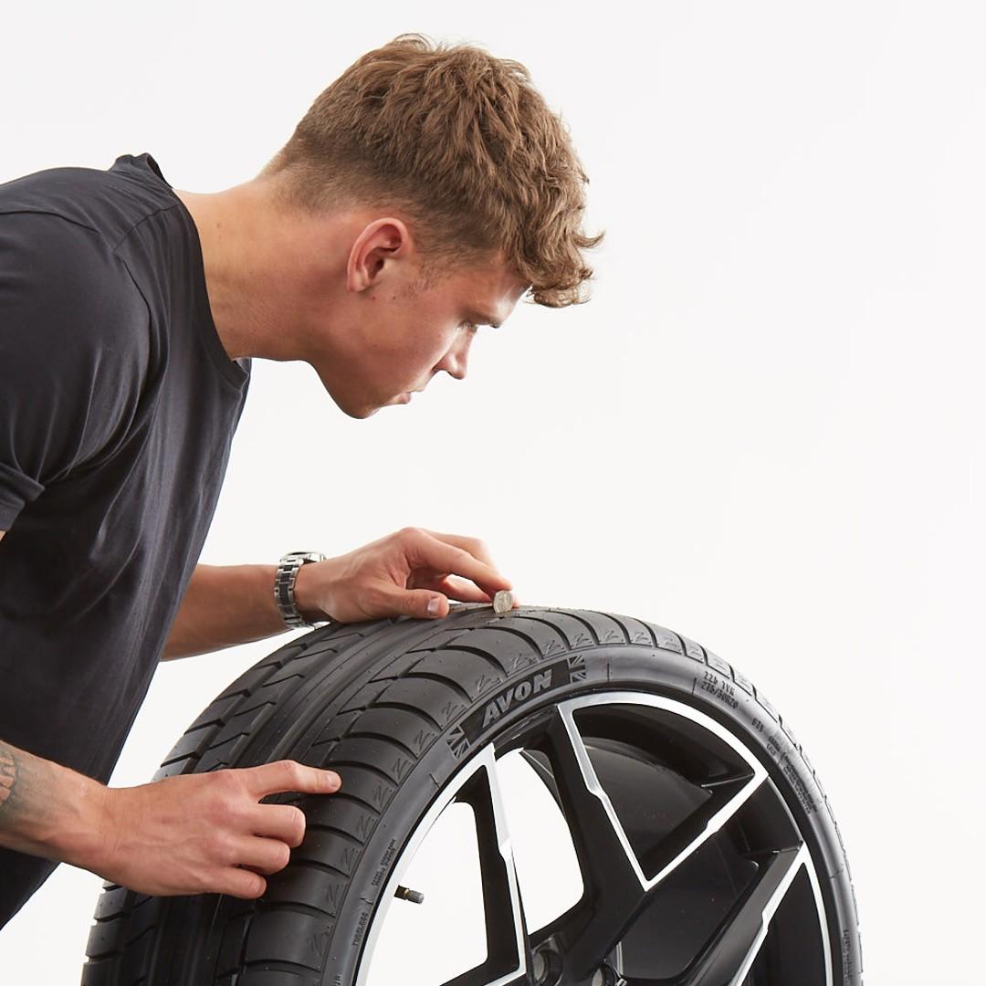 Reifenaufbau