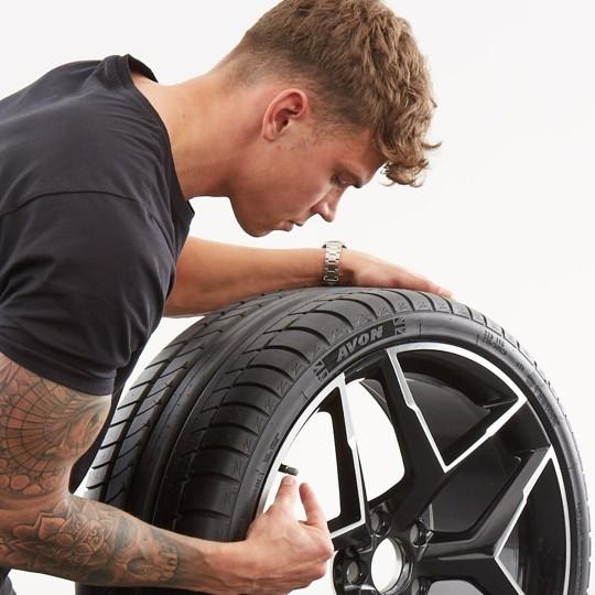 La presión de neumáticos